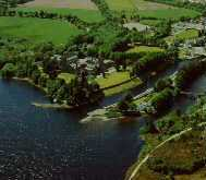 Fort Augustus Abbey, the Oich and Caledonian Canal