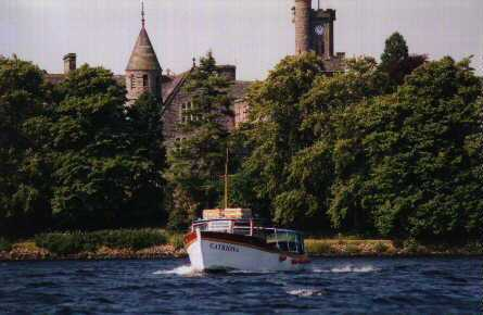 Catriona Loch Ness Cruises