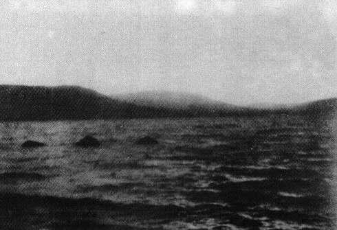 Lachlan Stuart's fake Loch Ness Monster picture