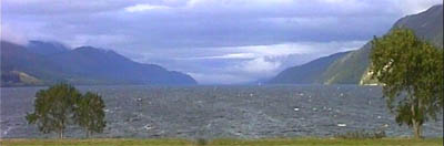 Loch Ness from Borlum Bay Fort Augustus