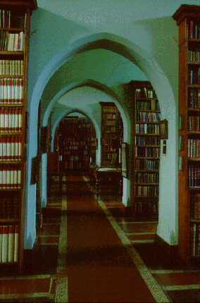 Fort Augustus Abbey Monks' Library