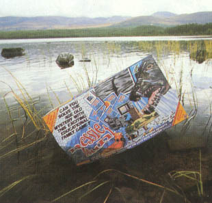 A publicity picture of Nessie Hunt from its launch in 1987