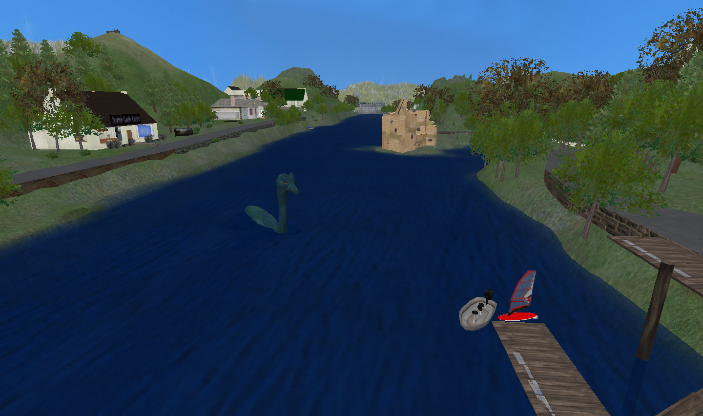The Urquhart Region of the Virtual Scottish Highlands
