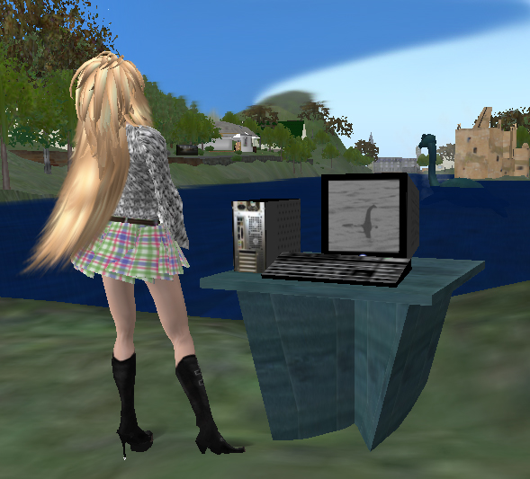 Using equipment in the on-line Nessie Hunt